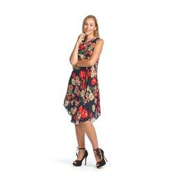 Papillon Tropical Henley Aline Dress