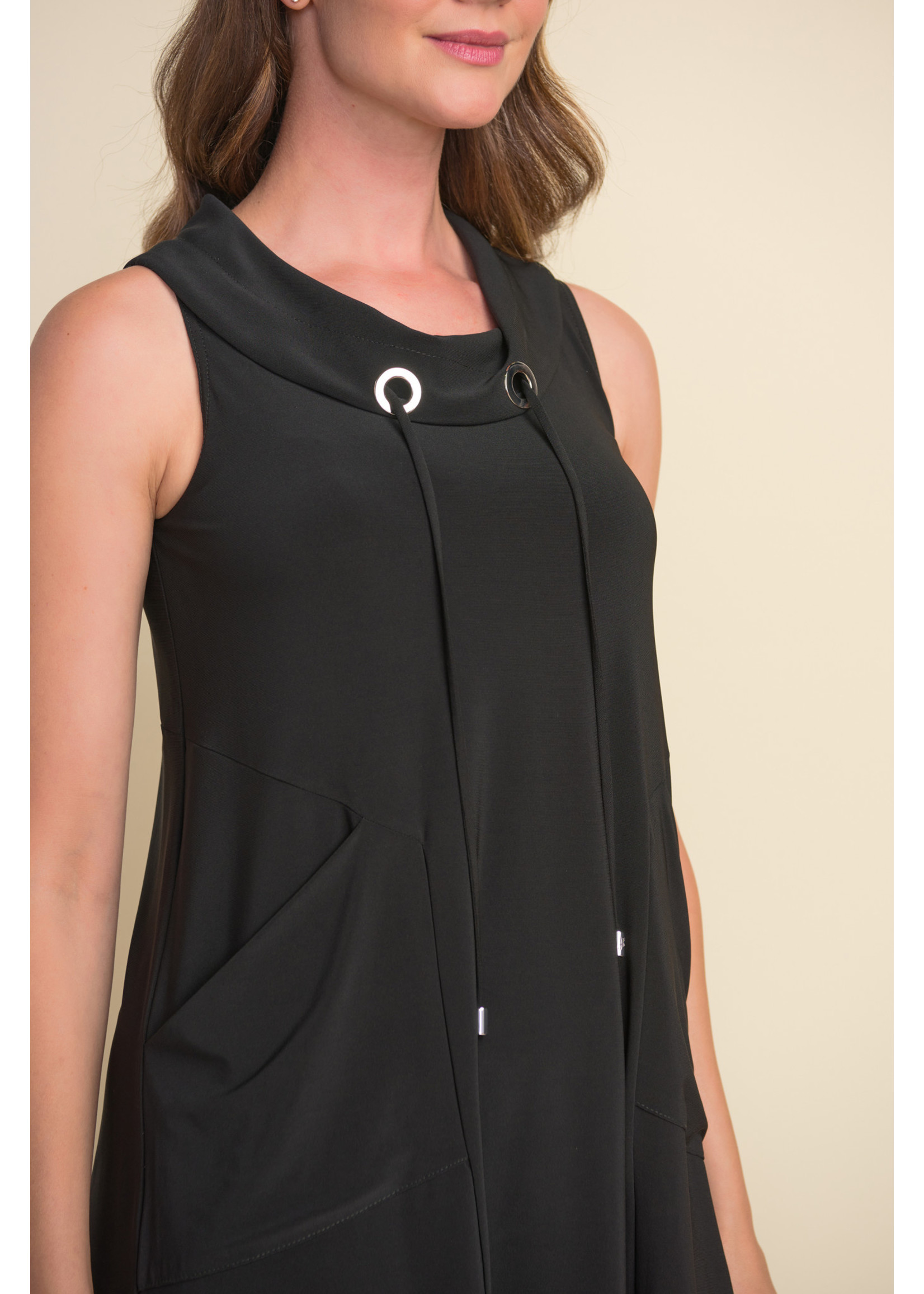 Joseph Ribkoff Black Tunic With Pockets