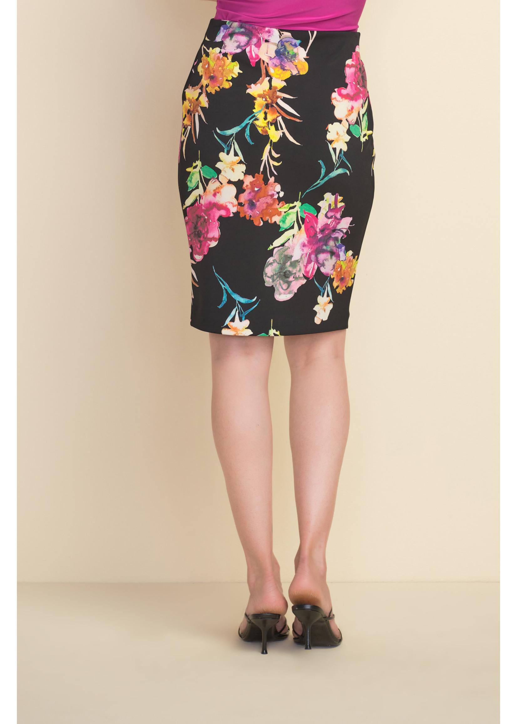 Joseph Ribkoff Floral Skirt