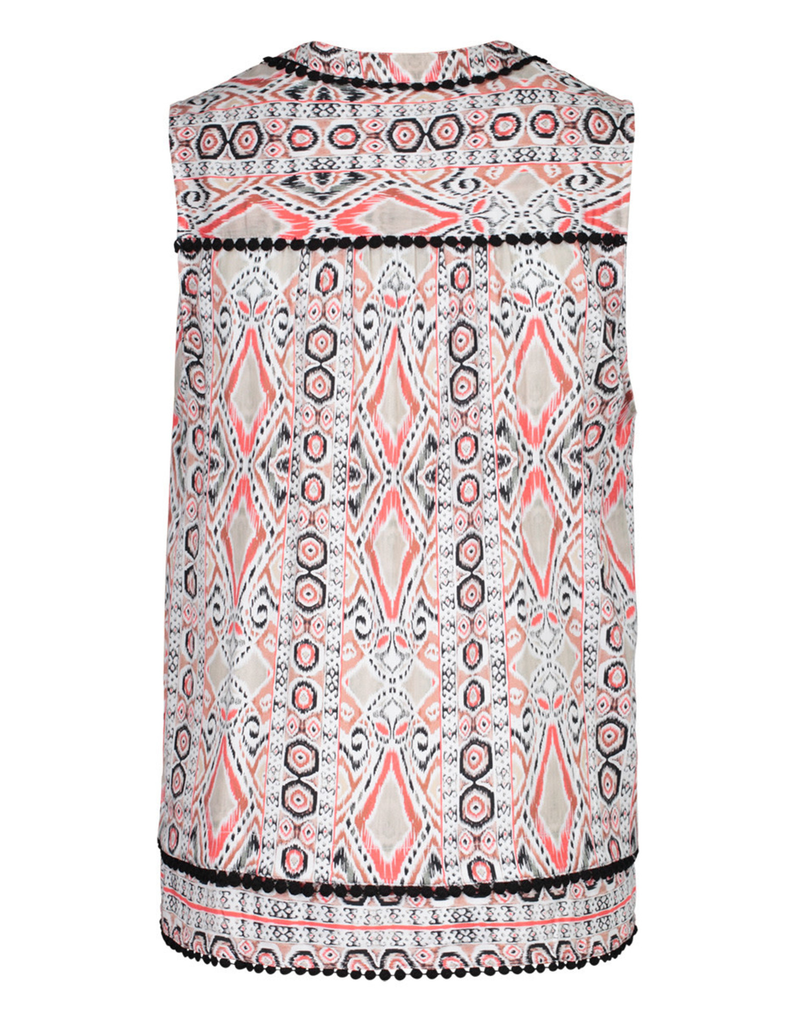 Tribal Sleeveless Blouse