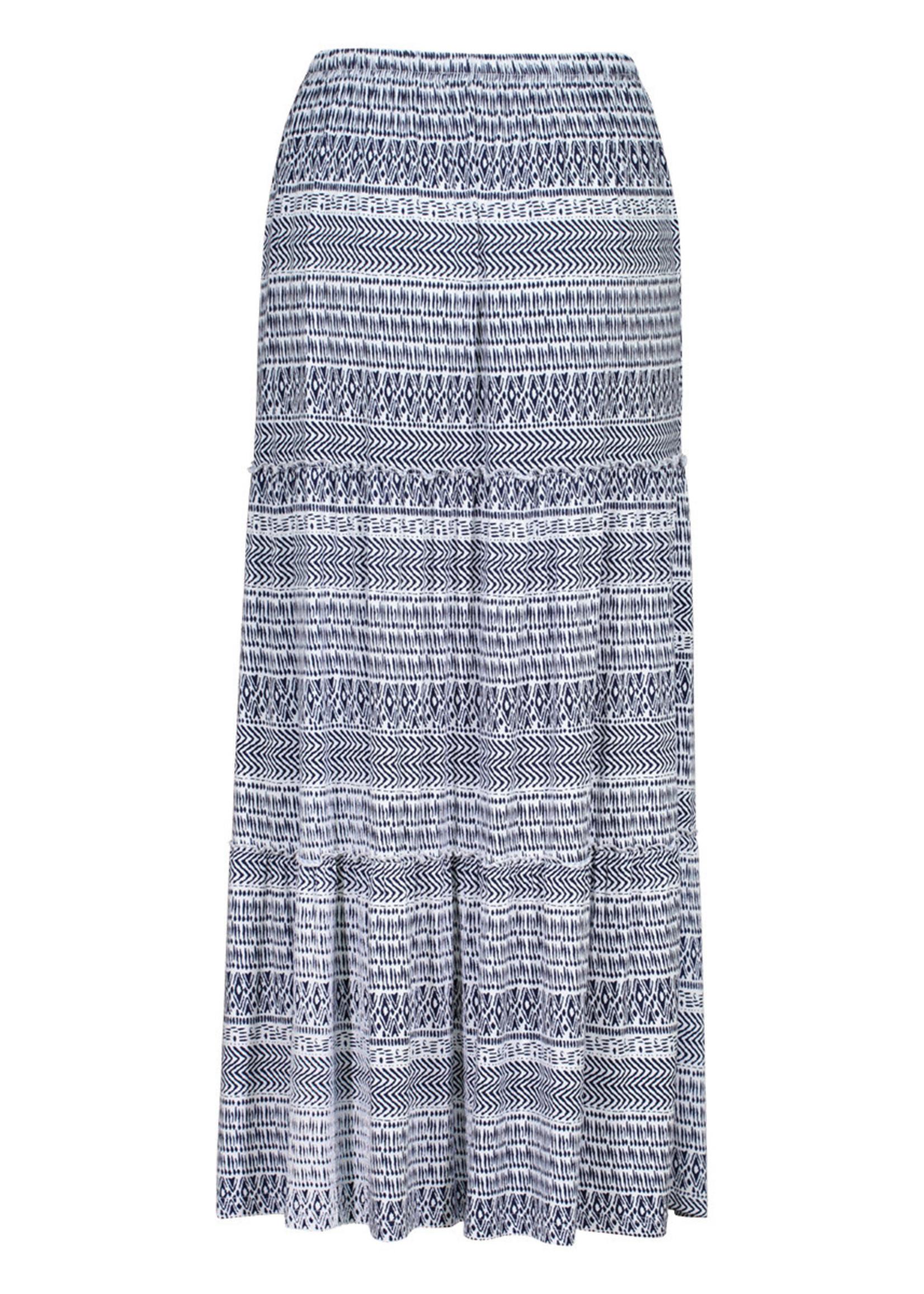 Tribal Pull On Maxi Skirt