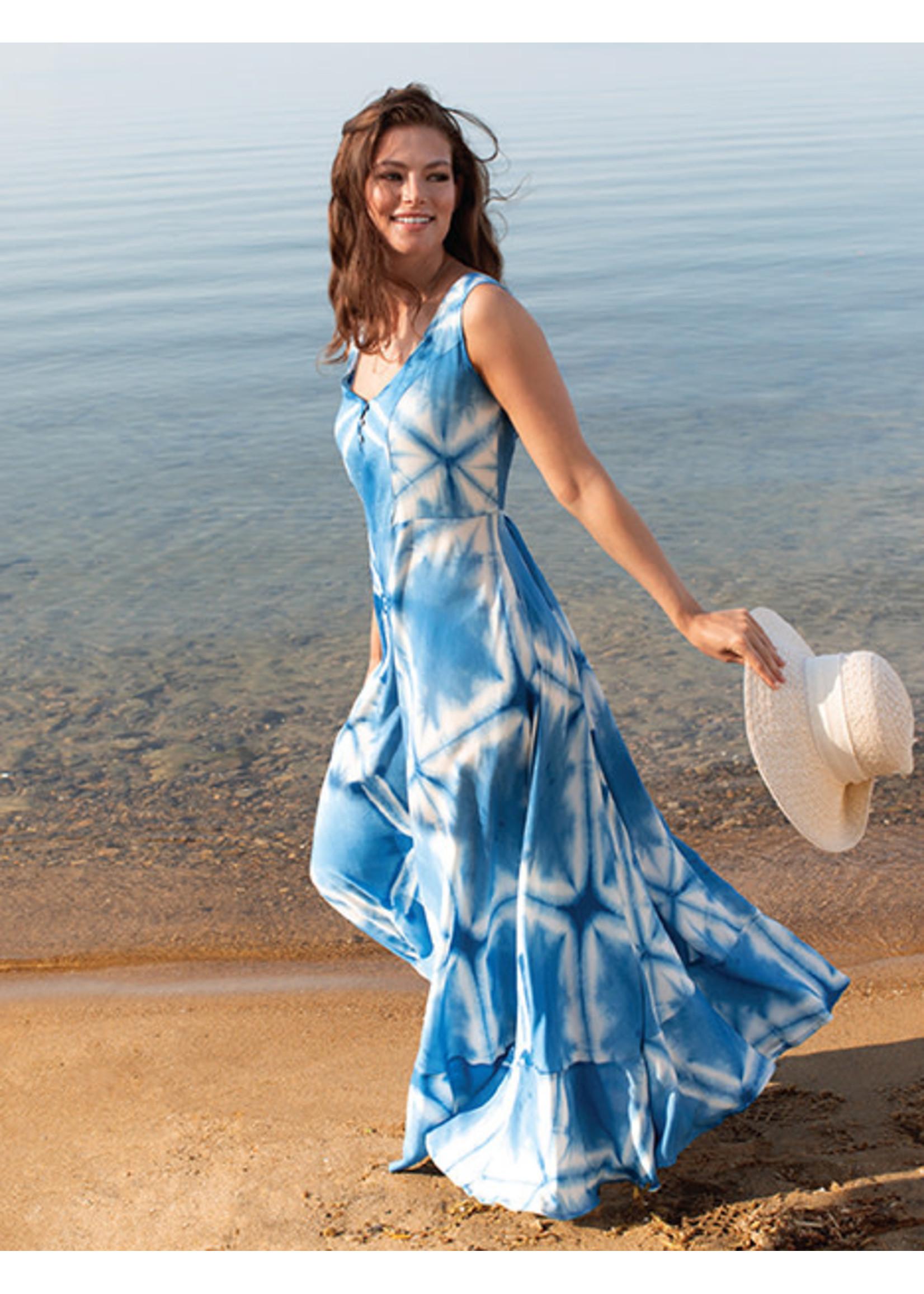 Tribal Hankerchief Dress