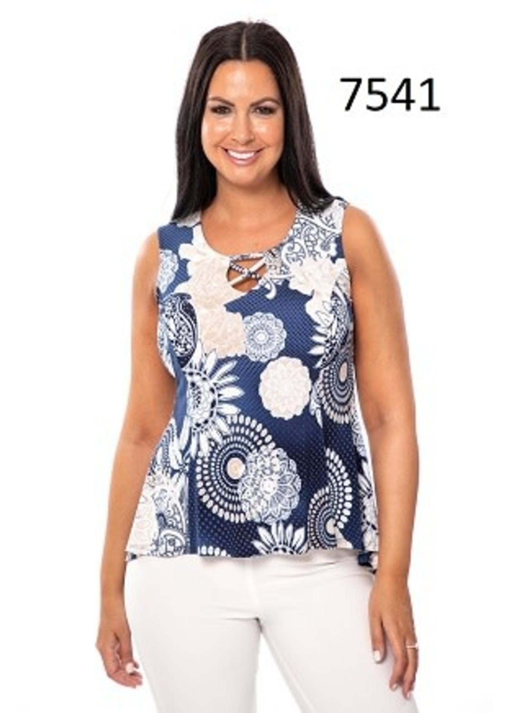 Bali Sleeveless Printed Top