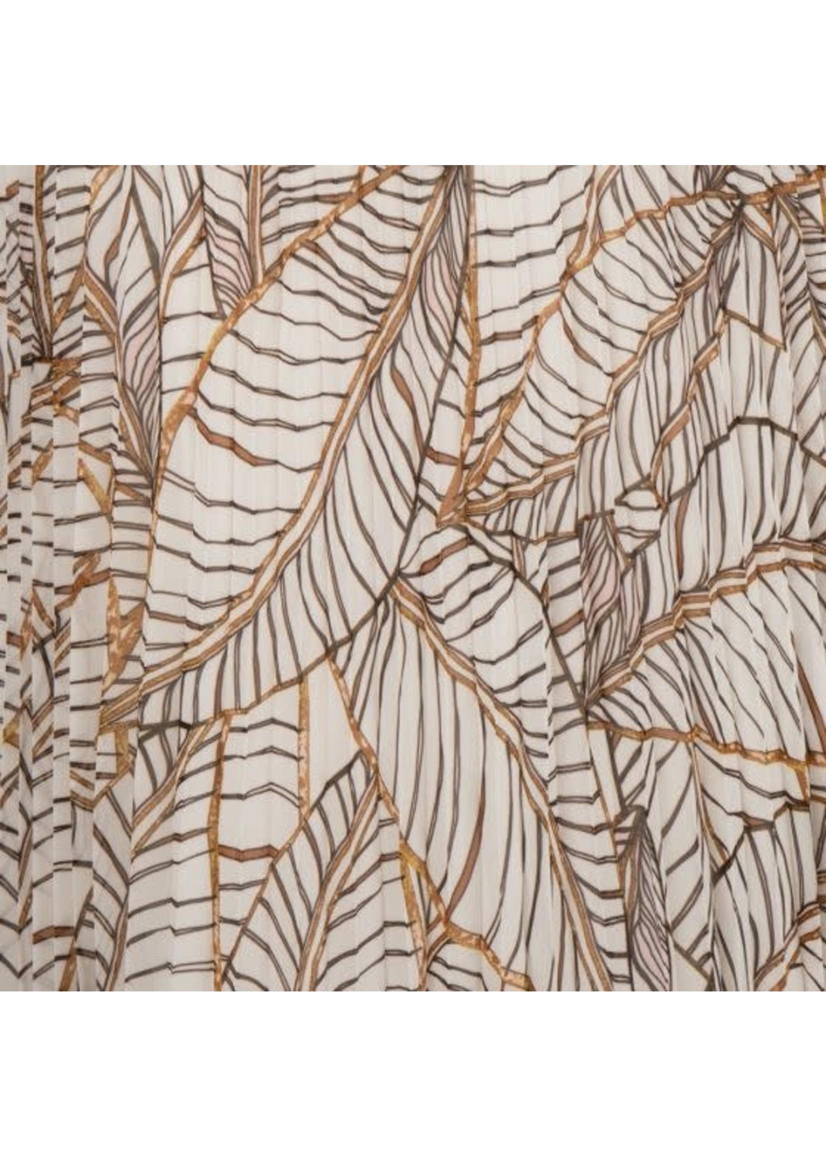 Esqualo Skirt Plisse Terra Tropicana