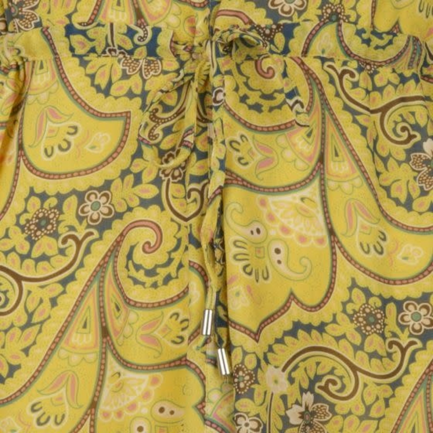 Esqualo Long Paisley Print Dress