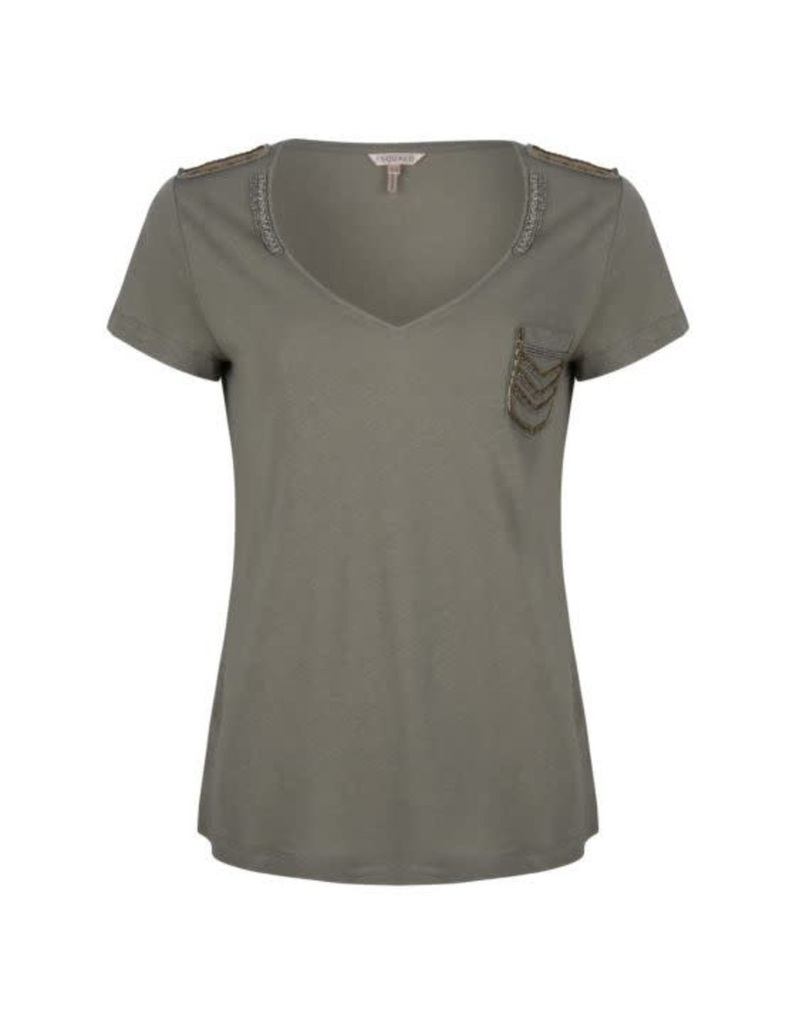 Esqualo Military Patches T-Shirt