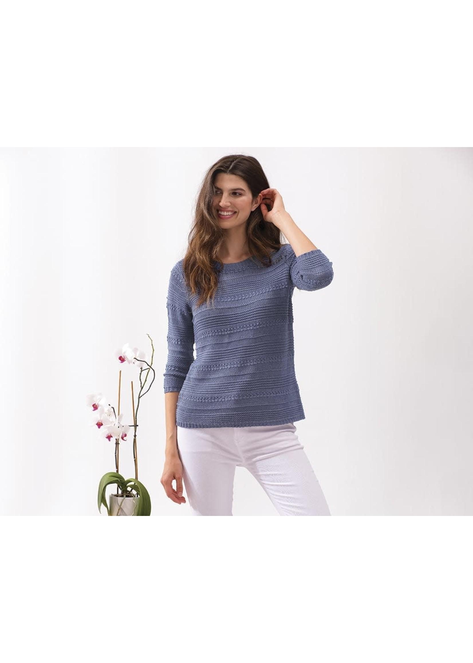 Alison Sheri Blue Sweater