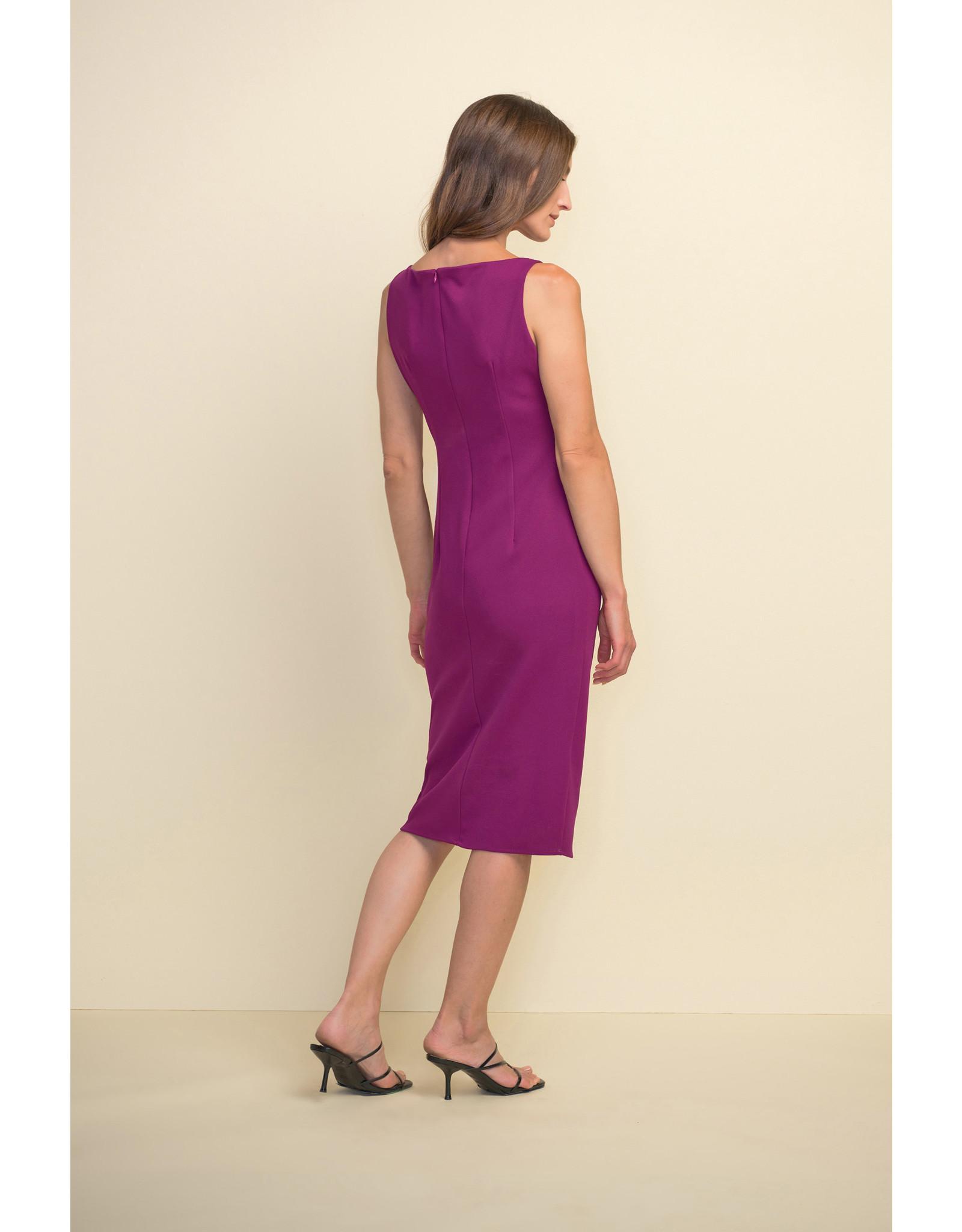 Joseph Ribkoff Sleeveless Dress With Bow Detail
