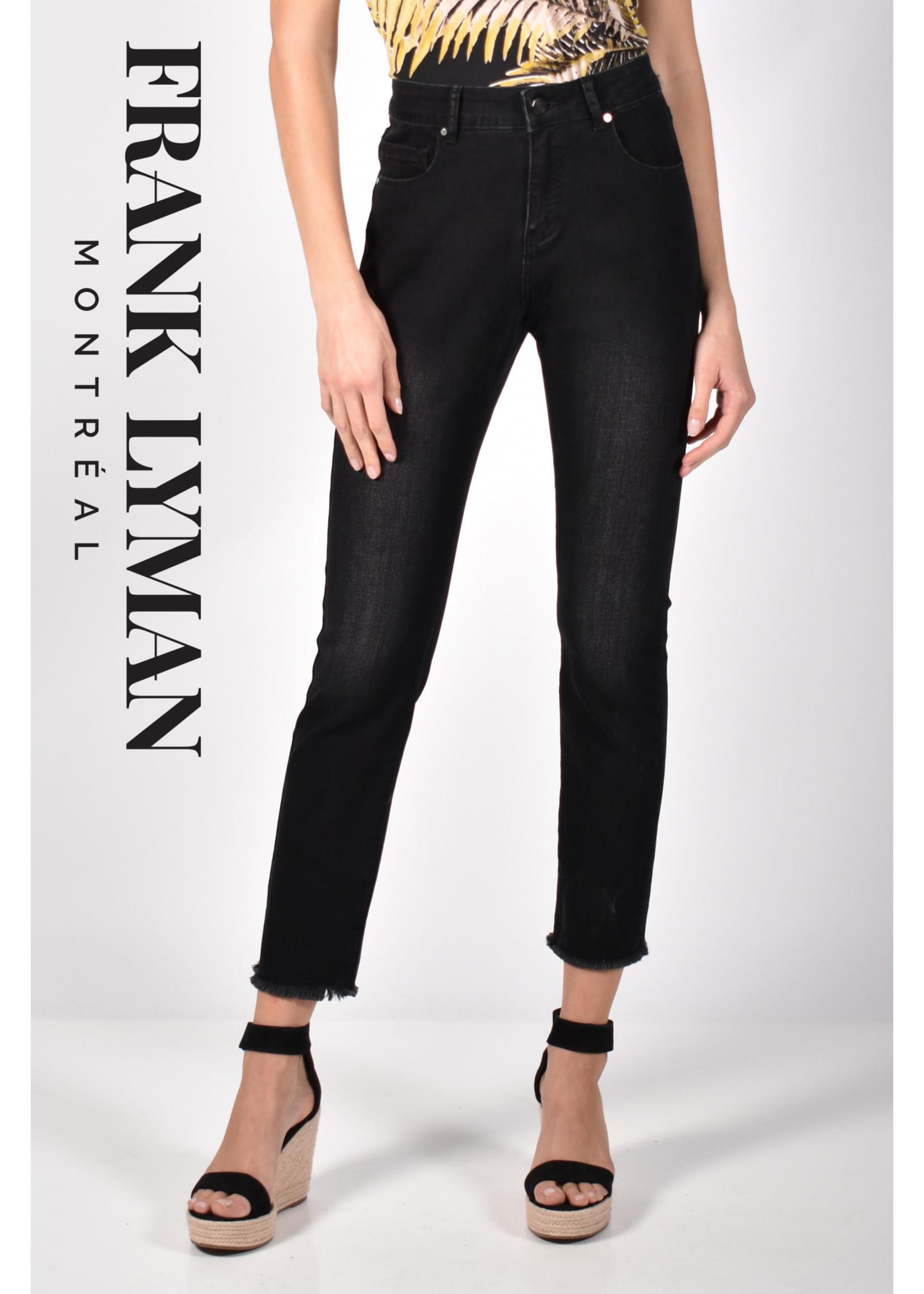 Frank Lyman Frayed Bottom Jean *2 Washes*