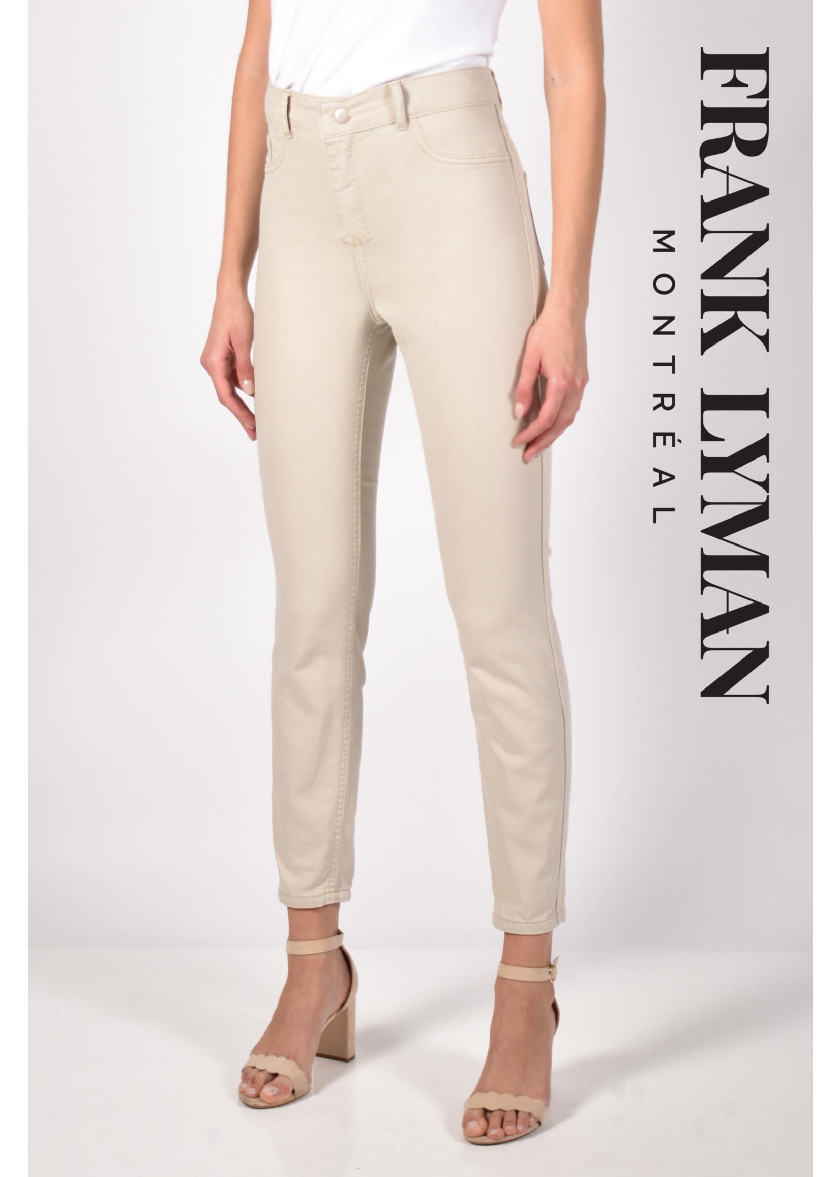 Frank Lyman Floral/Beige Reversible Jean