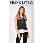 Frank Lyman Black & White Woven Top