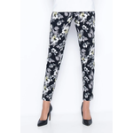 Picadilly Ankle Length Pant Lime Multi
