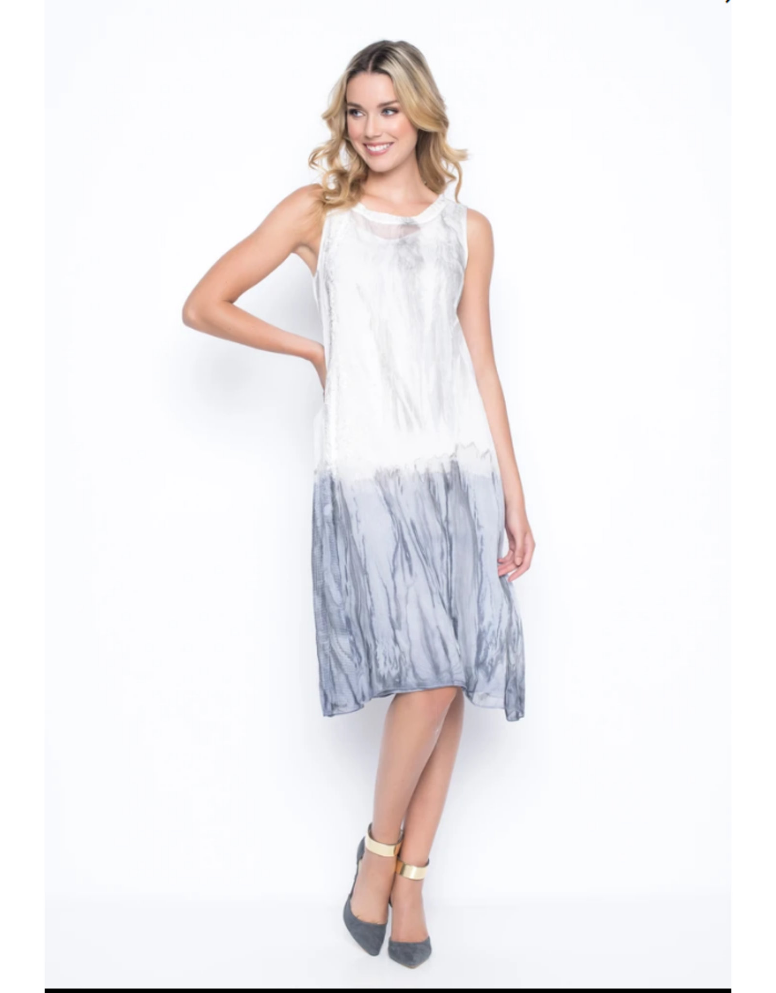 Picadilly Printed Sleeveless Dress