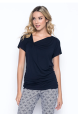 Picadilly Navy V-Neck Tank