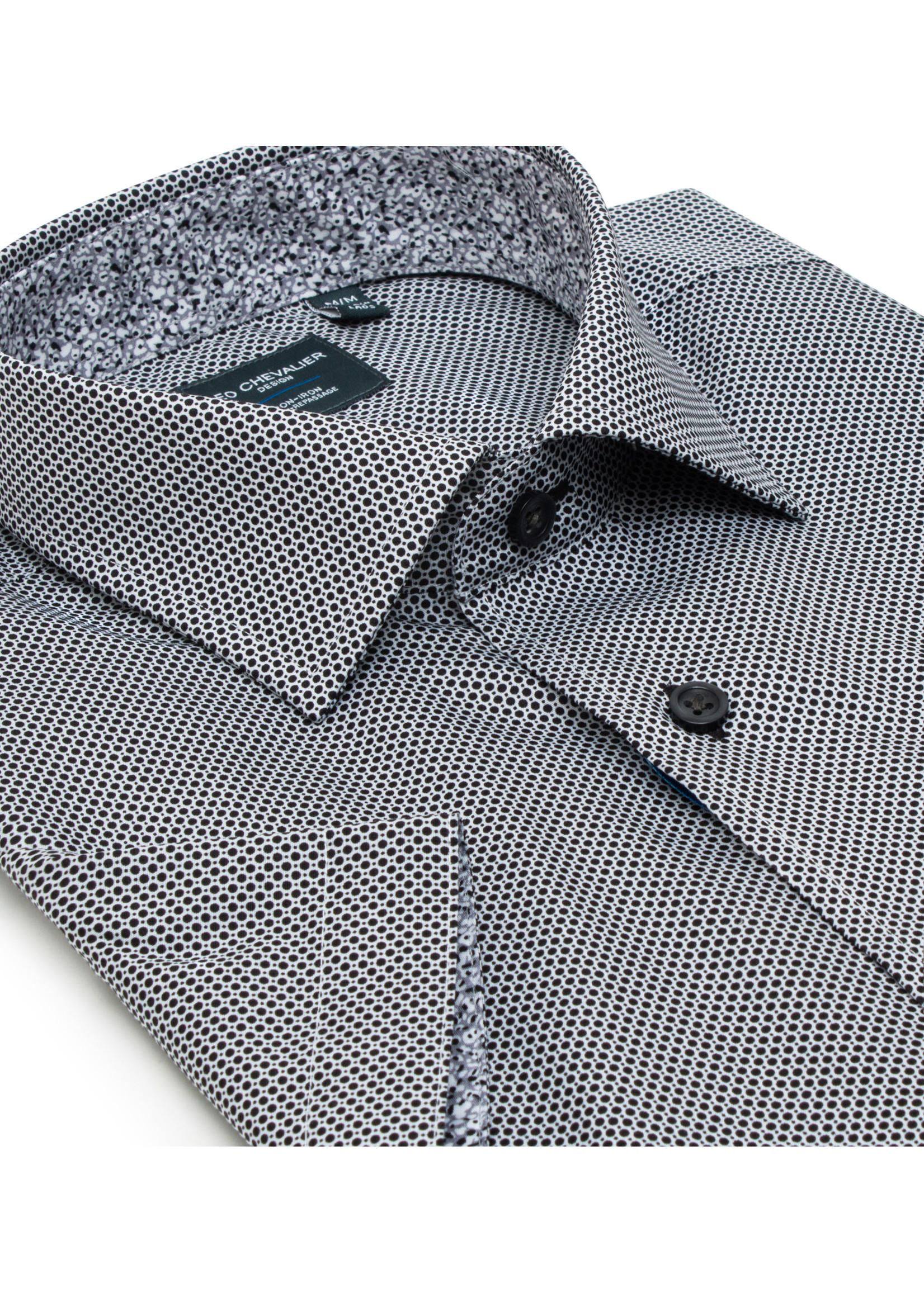 Leo Chevalier 100% Cotton Non Iron Button Down Short Sleeve