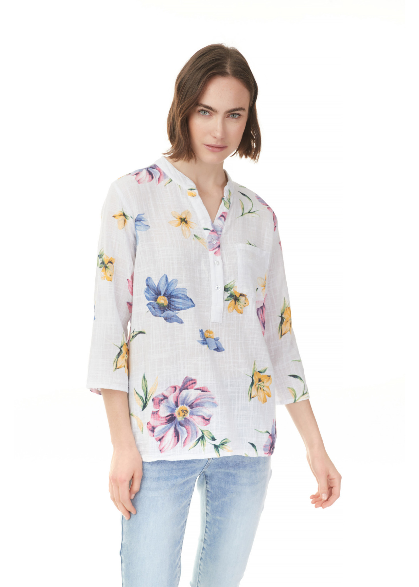 Charlie B Printed Blouse Candy