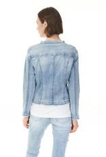 Charlie B Light Blue Stretch Denim Jacket