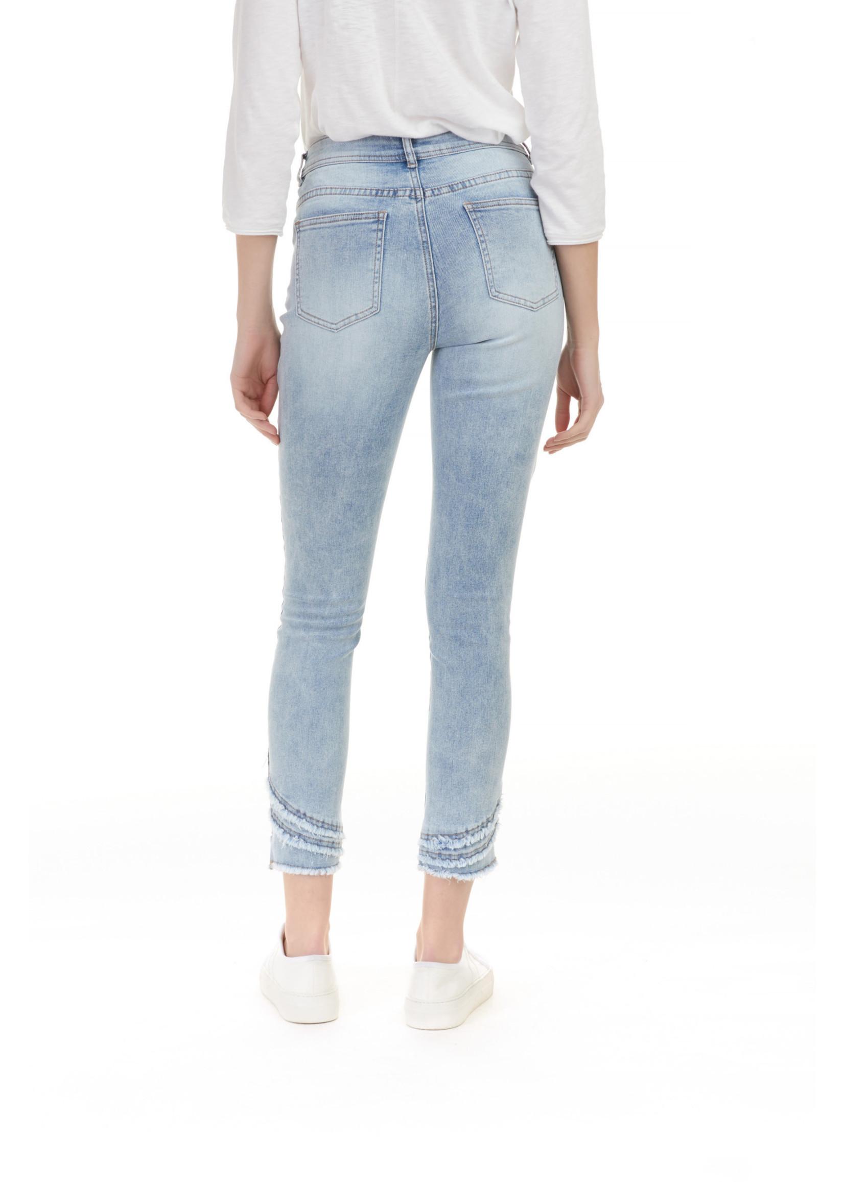 Charlie B Ripped Hem Jeans