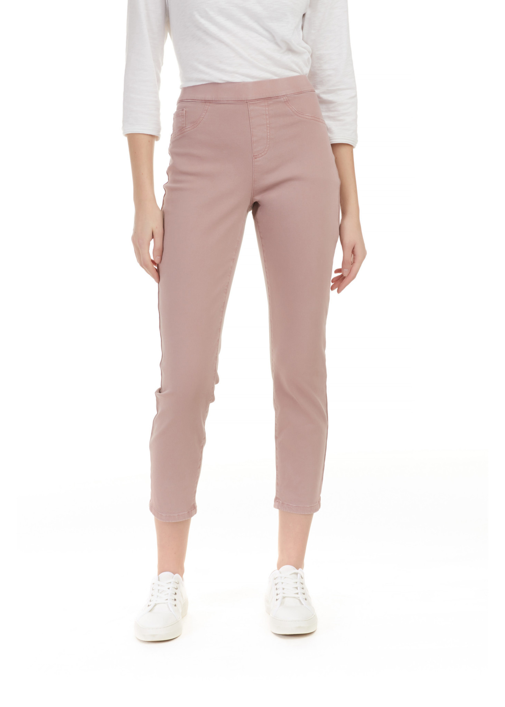 Charlie B Bow Pant In Coloured Twill