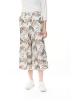 Charlie B Printed Linen Blend Palazzo