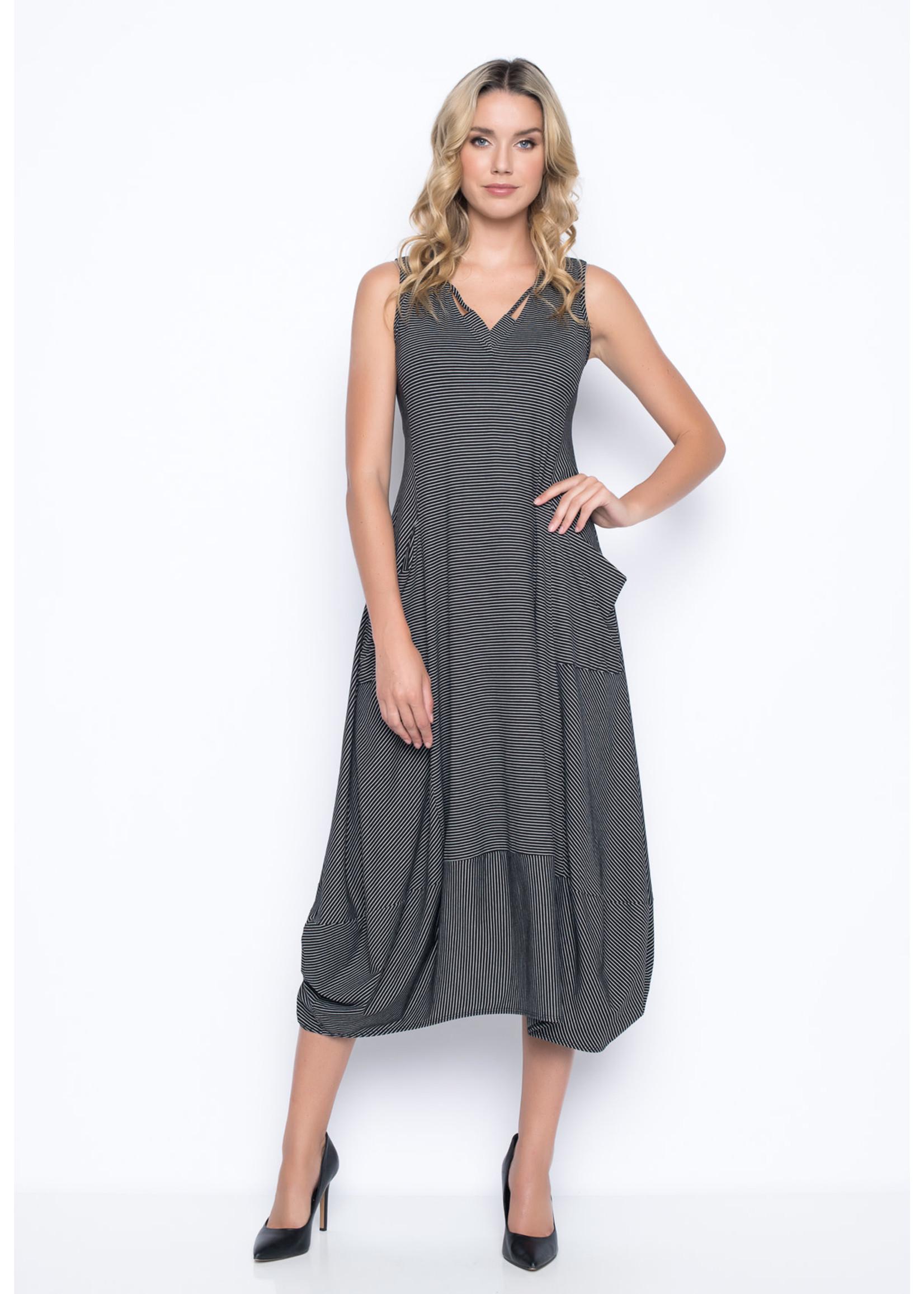 Picadilly V-Neck Bubble Dress