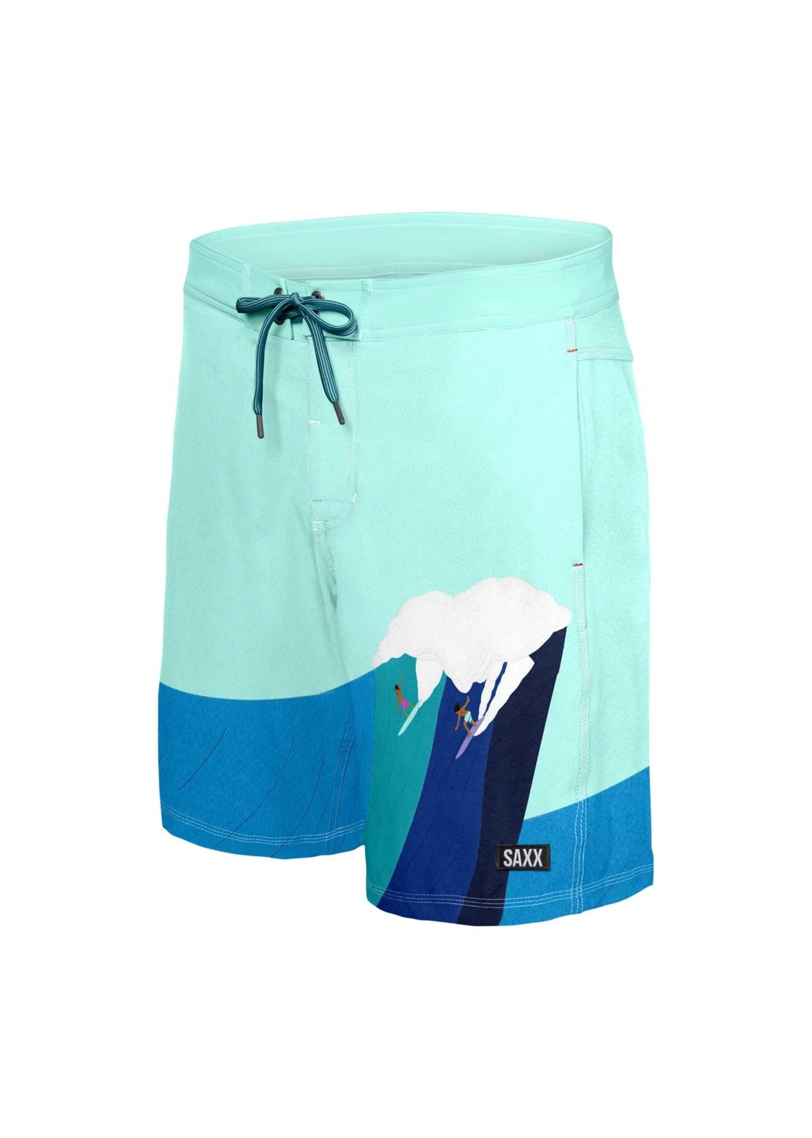 "Saxx Betawave  Swim Shorts 19"""