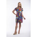Orientique 100% Cotton Reversible Dress