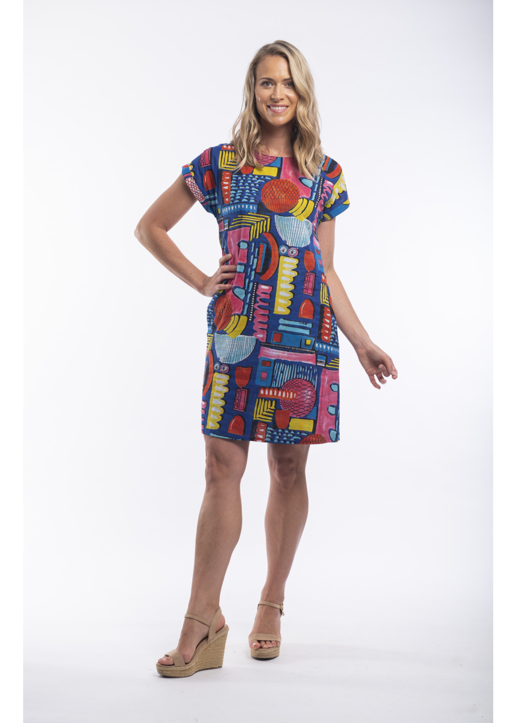 Orientique 100% Cotton Dress