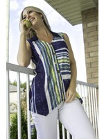 Pure Essence Tunic With Shirt Collar