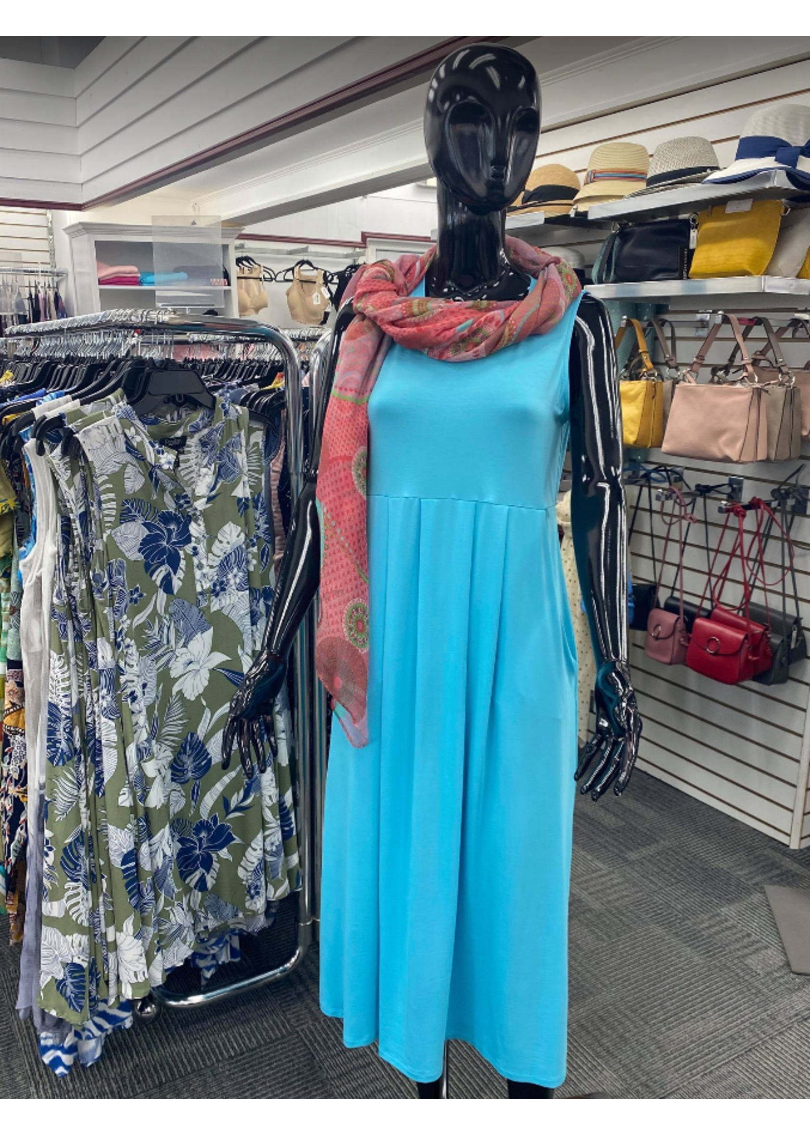 Pure Essence Bamboo Dress *2 Colors*
