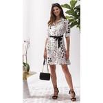 Alison Sheri Black Polka Dot Dress With Slip