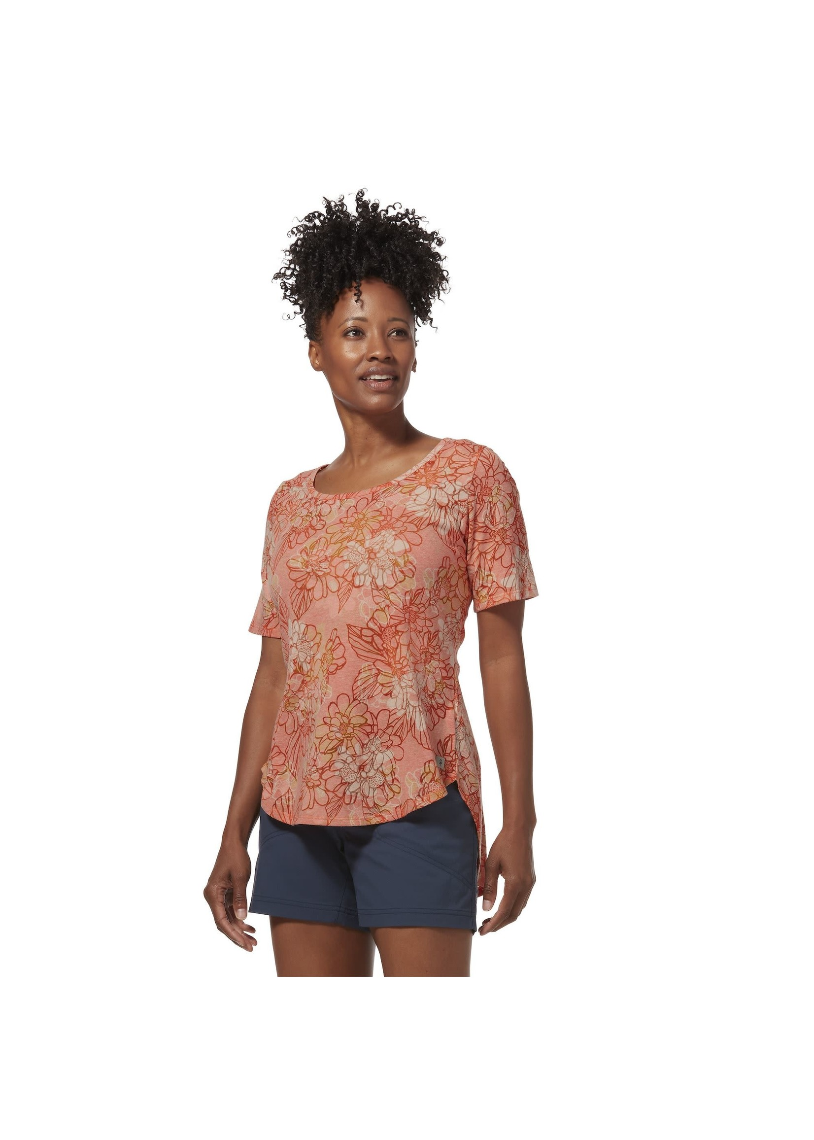 Royal Robbins Featherweight Tee Scoop Neck