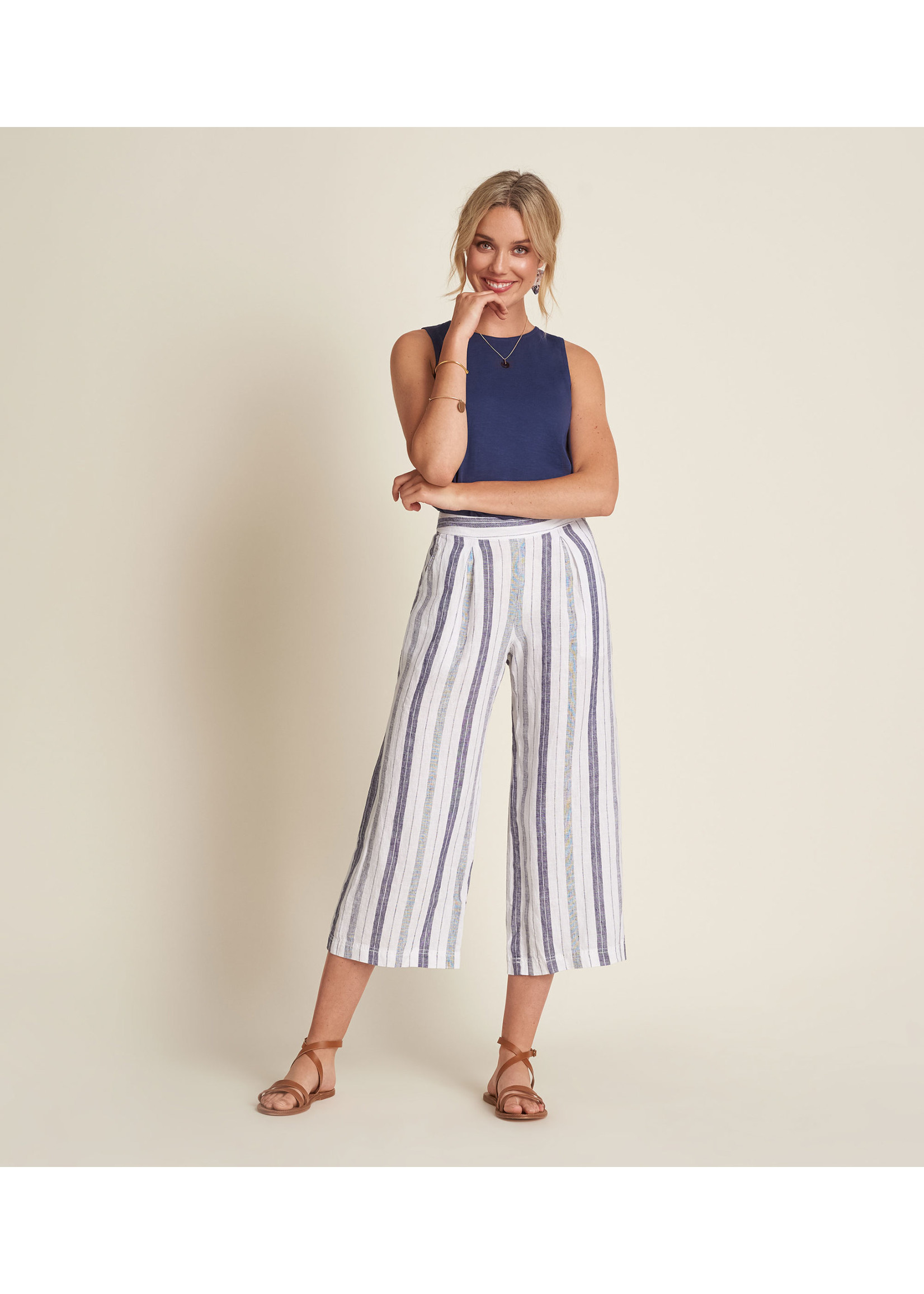 Hatley Cotton Linen Culottes