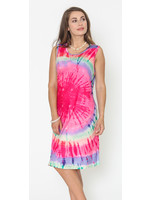 Funsport Pink Tie Dye Dress