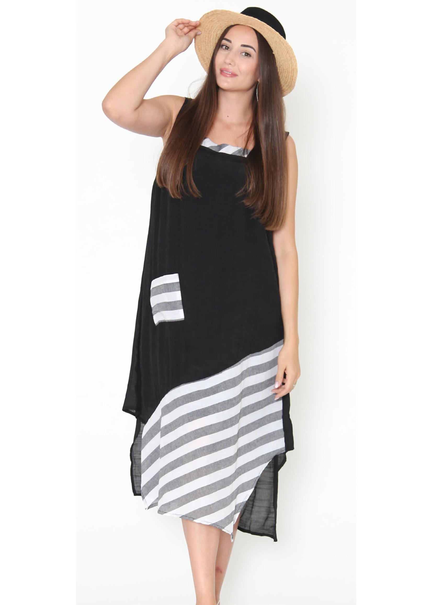 Funsport Black & White Dress