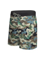 Saxx Betwave Short 2 in 1 Green Jungle Print