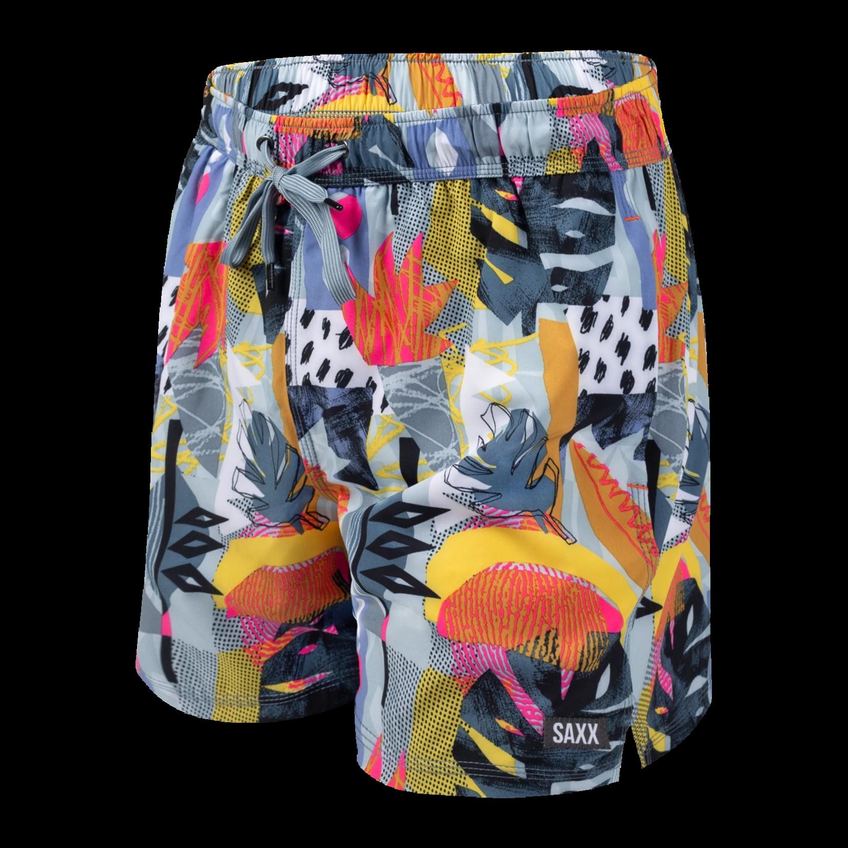 Saxx Oh Buoy  Swim Tropical Shorts
