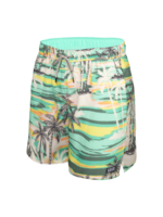 Saxx Oh Buoy  Swim Shorts Green No Bad Days