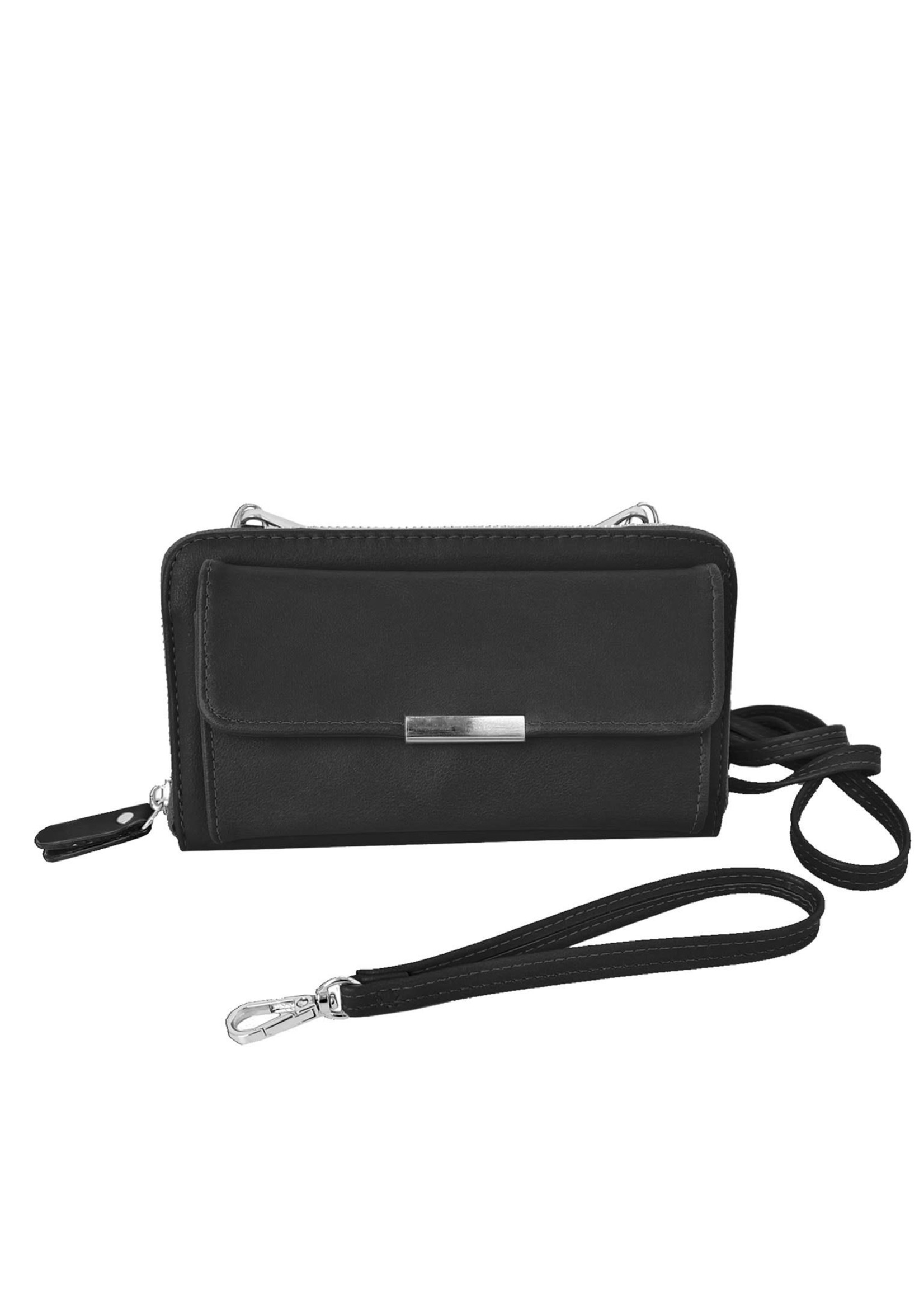 Caracol Black 2 In 1 Purse/Wallet