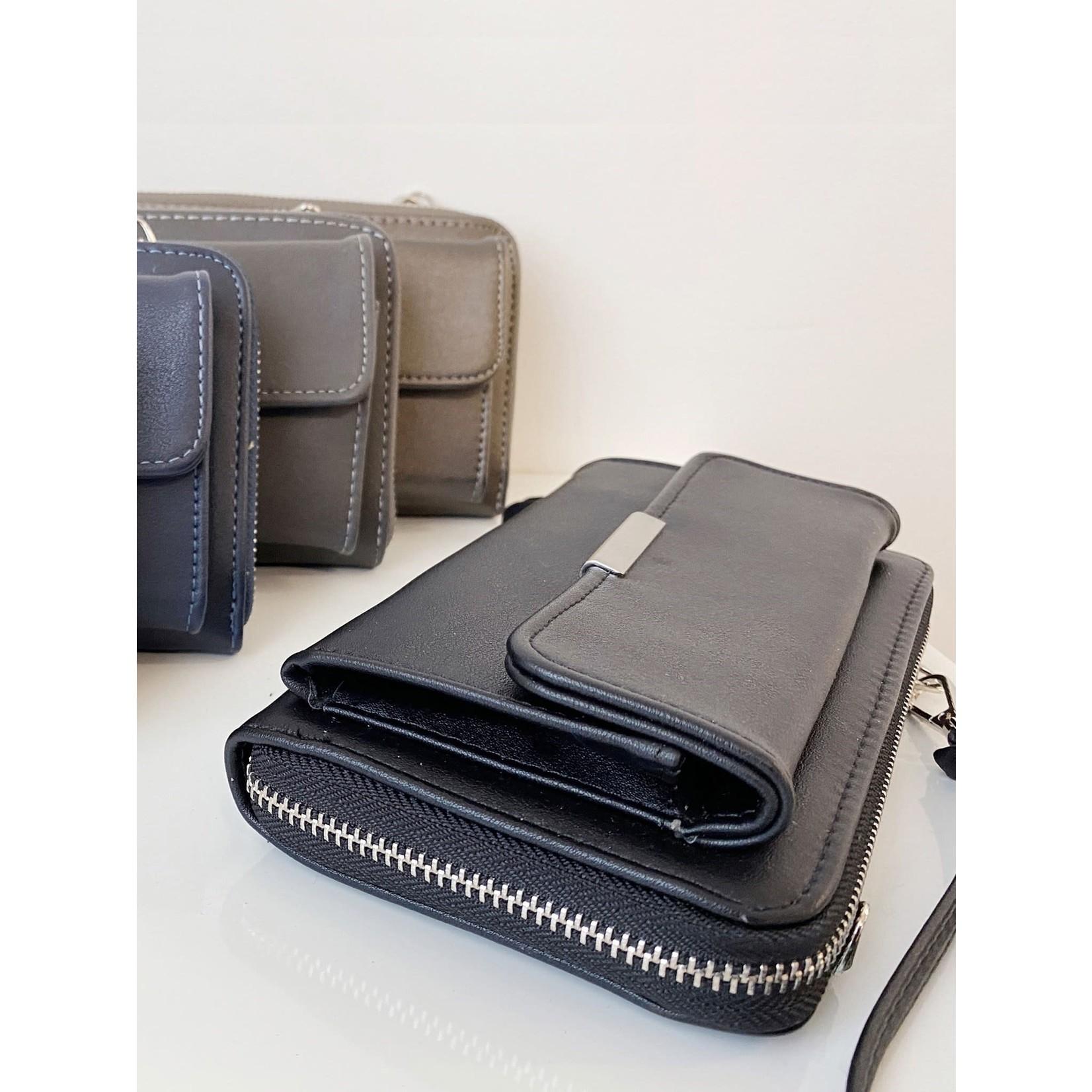 Caracol Black 2 In 1 Purse/Wallet