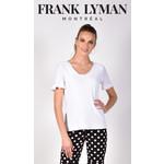 Frank Lyman White Knit Top