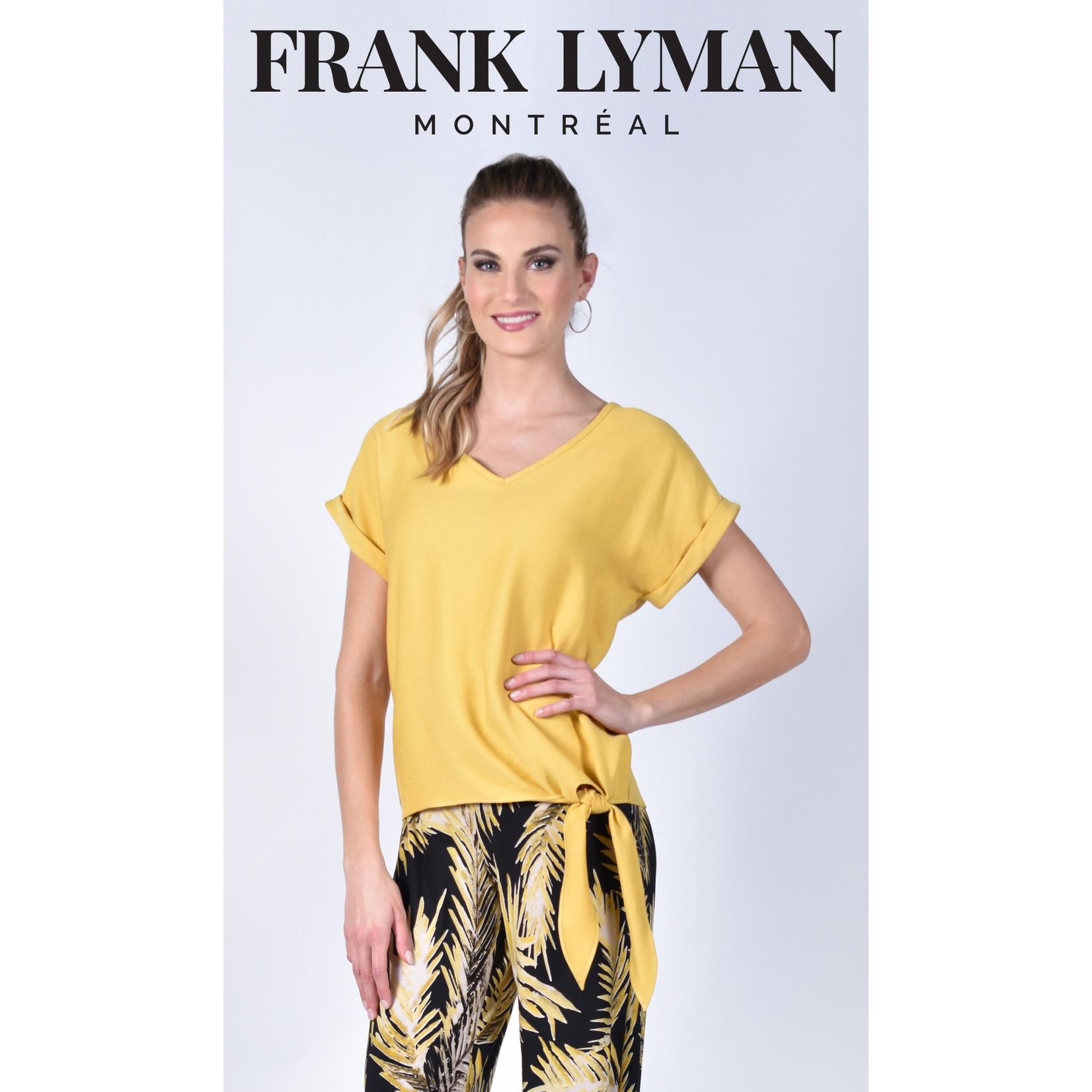 Frank Lyman Yellow Woven Top