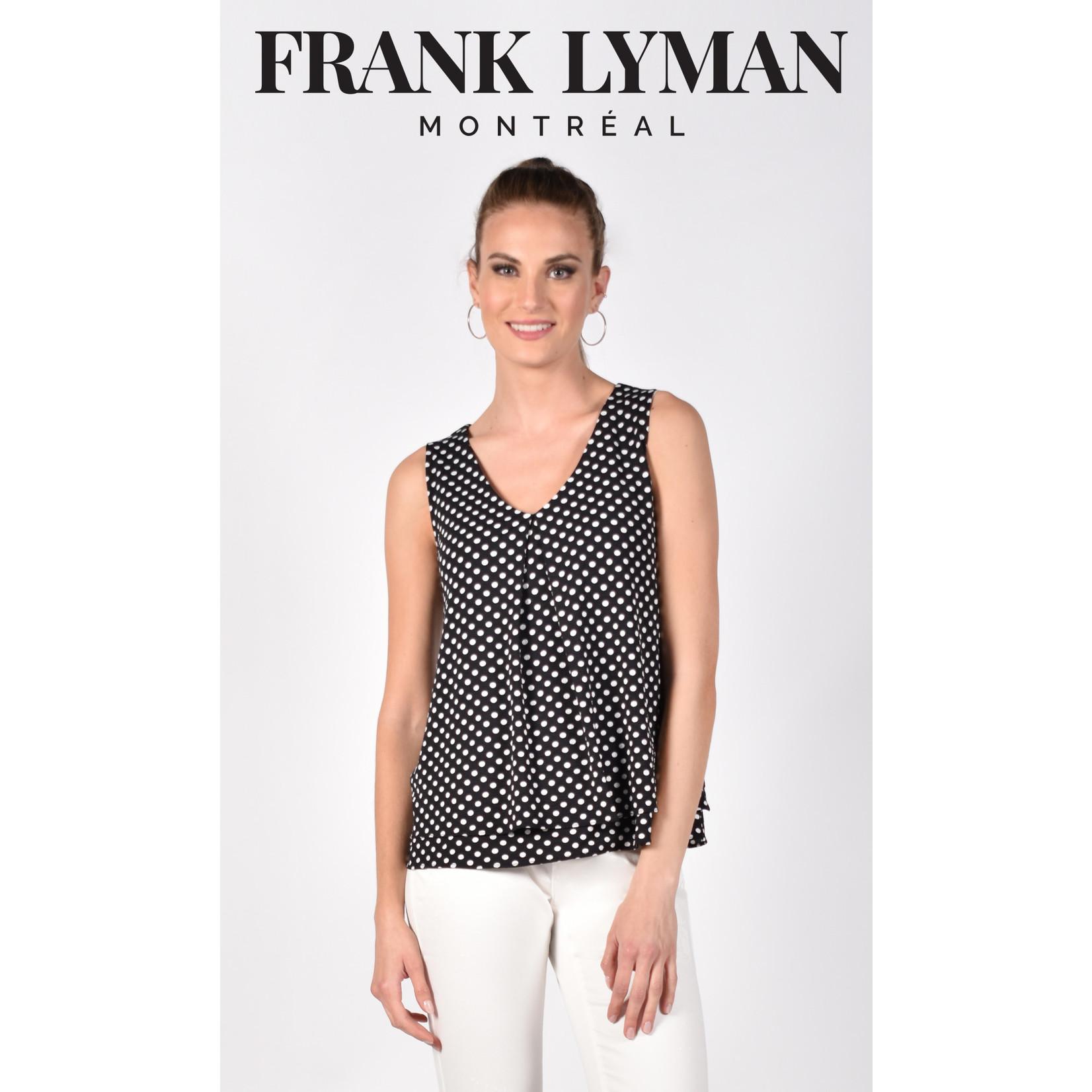 Frank Lyman Black/White Knit Top