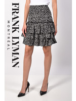 Frank Lyman Black/Off White Knit Skirt