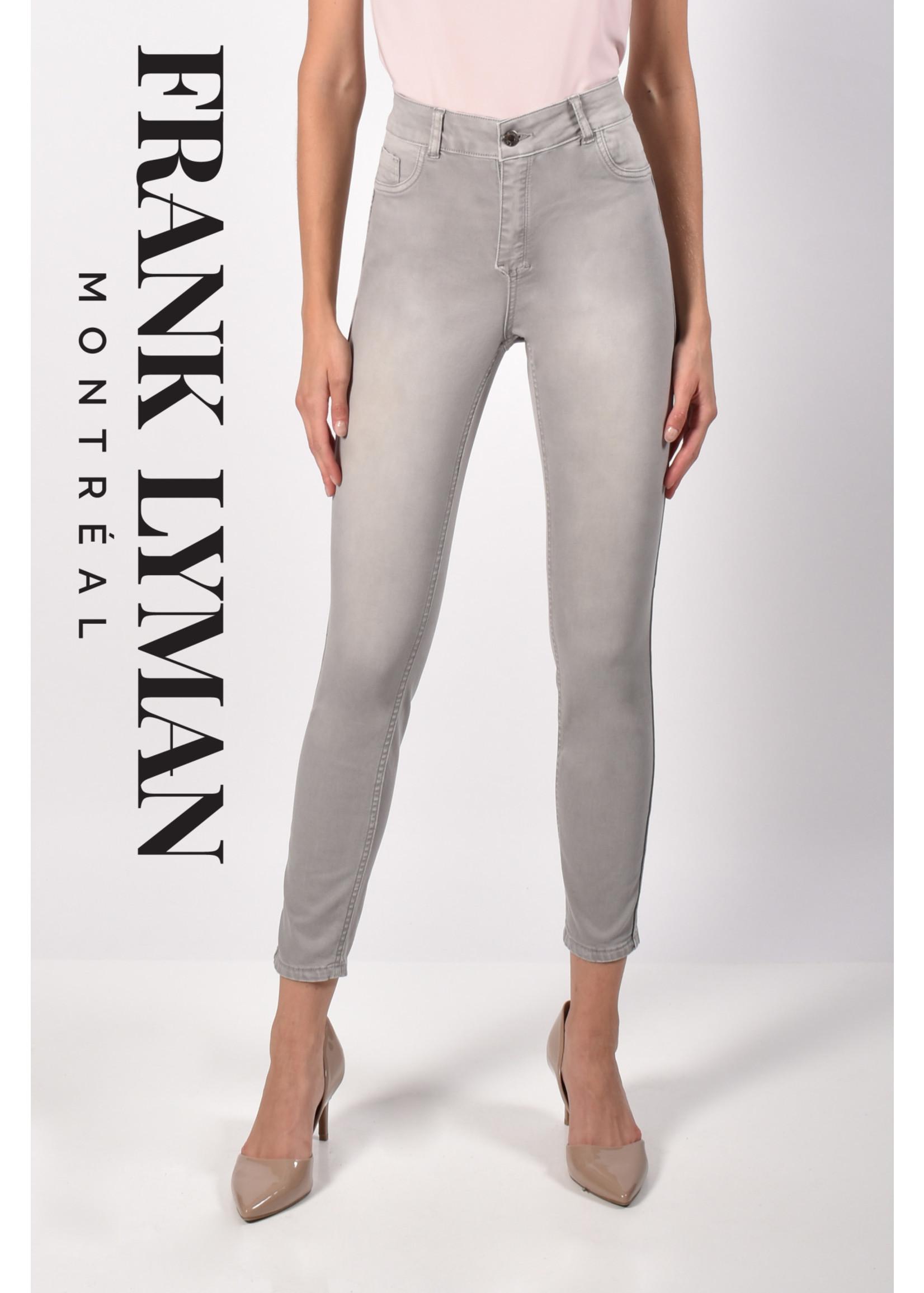Frank Lyman Floral/Grey Reversible Jeans