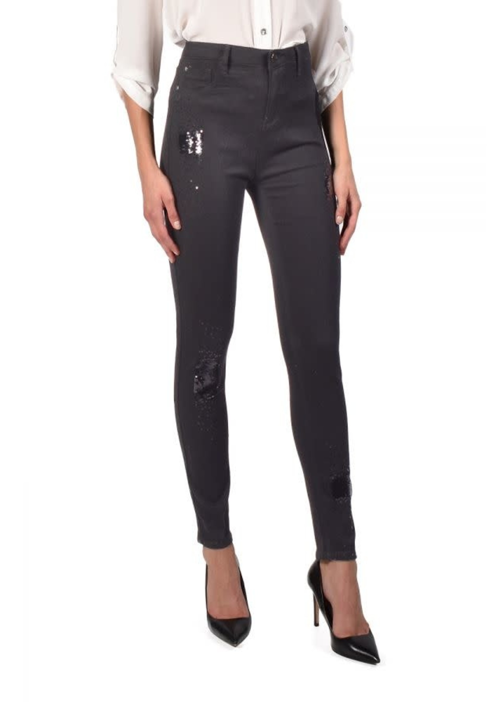 Frank Lyman Black Denim Pant