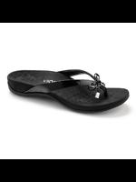 Vionic Bella Toe Post Sandal Black