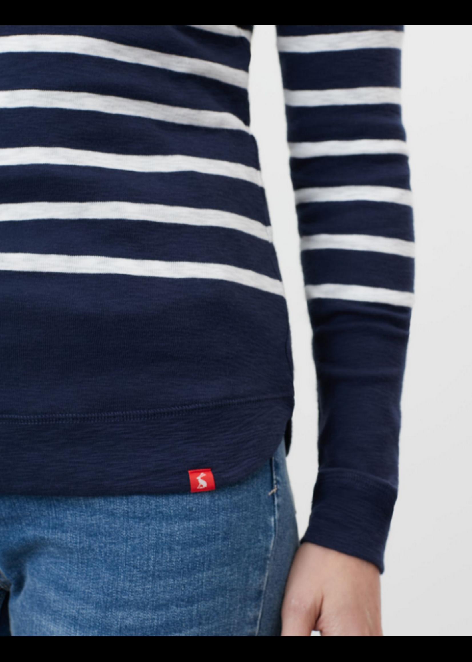 Joules Marlston Stripe Hooded Sweatshirt