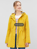 Joules Shoreside Waterproof A-Line Coat