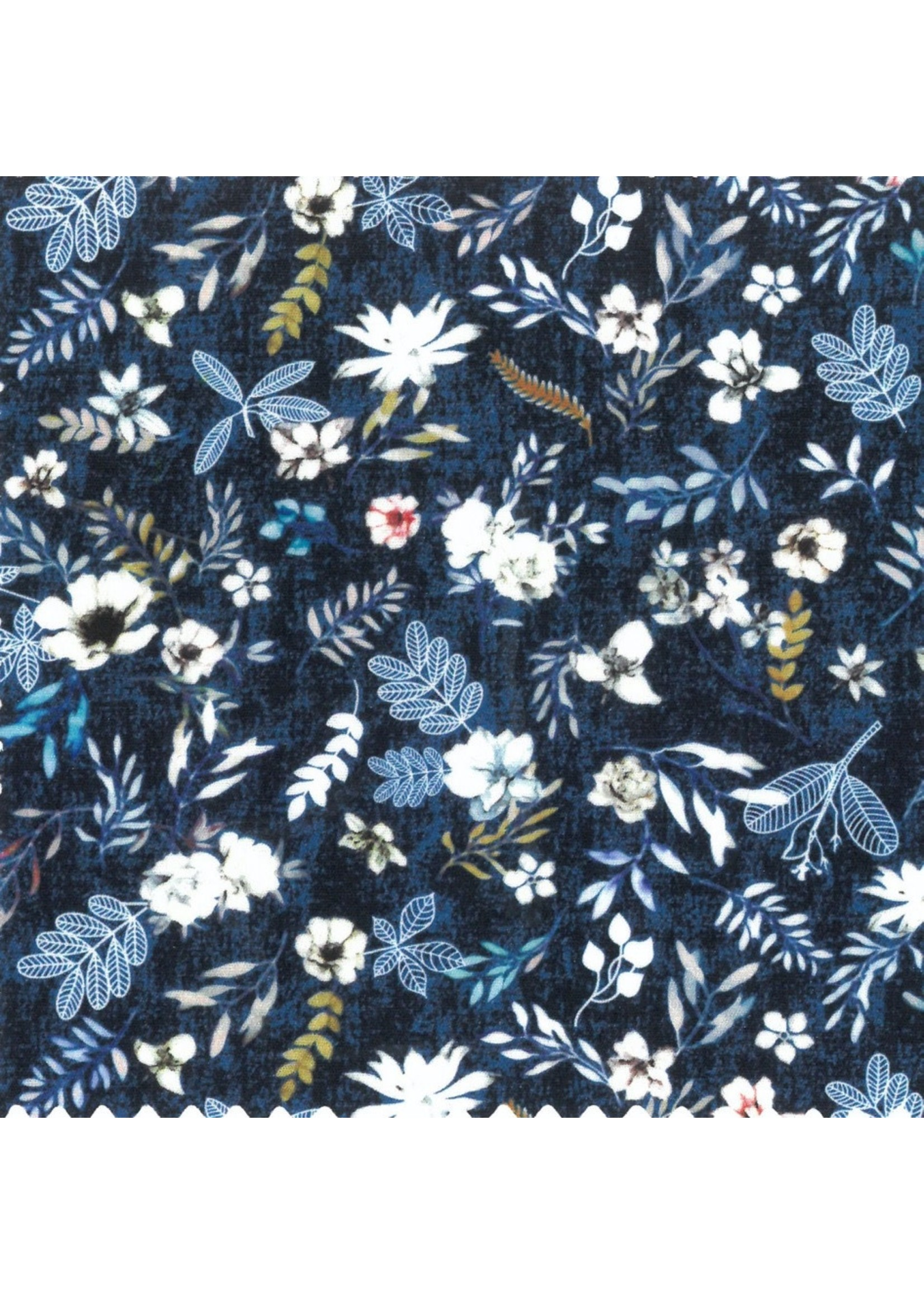 Leo Chevalier Floral Print Short Sleeve Shirt